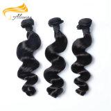 Comercio al por mayor precio barato 100% de la Virgen de Malasia Hair Extension