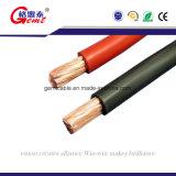 Cable de cobre eléctrico aislado de goma o PVC Auto Cable de batería Cable