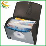 A abraçadeira do tubo de pasta de documentos de plástico4