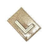 Искусственной кожи владельца карточки фабрики Lcq-0141 Гуанчжоу Yuchuang горячий продавая бумажник втулки вырезывания Loose-Leaf Unisex