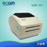 Ocbp-007-U 4inch dirigono il colore termico di bianco della stampante del codice a barre