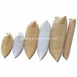 La diferencia del precio de fábrica pulsa el bolso de aire de alta presión del balastro de madera para el envase