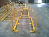 Barandilla de FRP/escala de paso de progresión del material/de la fibra de vidrio de construcción
