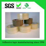 Claro/cinta adhesiva del embalaje de Brown BOPP para el uso de la fábrica
