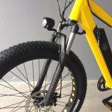 Bike по-разному Paladin покрышки цвета тучного электрический с батареей лития 21 скорости