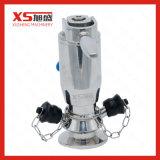 Корпус из нержавеющей стали SS316L Пневматический ручной асептического клапаны для отбора проб