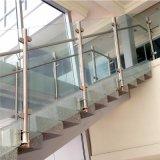 De binnen Prijzen van het Traliewerk van de Trede van het Glas van het Roestvrij staal Openlucht/van het Traliewerk en van de Leuningen van de Trede van het Roestvrij staal