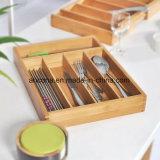 Forma de Apple que dobra a cesta de fruta de madeira de bambu dobrável