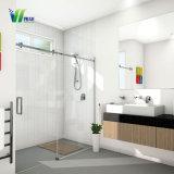 Высокое качество безопасности из закаленного стекла для ванной комнаты стеклянные двери