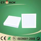 Indicatore luminoso di comitato quadrato della superficie LED 12W con Ce/RoHS compiacente