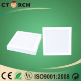Luz del panel cuadrada de la superficie LED 12W con Ce/RoHS obediente