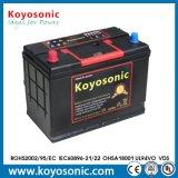 Mfのカー・バッテリーの製造業者12V 80ahの湿電池のカー・バッテリーNx120-7