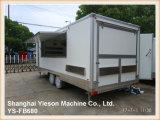 Yieson kundenspezifischer mobiler LKW-Schlussteil für Verkauf Australien