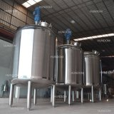 réservoir de mélange en acier inoxydable de navire de mélange de liquide de produits chimiques