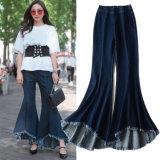 Горячие заказы! ! Простирание способа высокое - шкафут скачками супер Bell Нижние джинсыы женщин