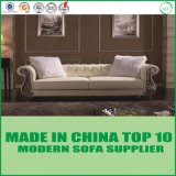 Base de couro moderna luxuosa do sofá da mobília da sala de visitas do sofá