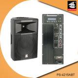 15 Zoll PROaktiver Plastiklautsprecher PS-4215abt USB-200W Ableiter-FM Bluetooth