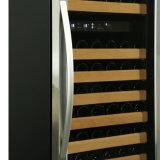 zona di vetro senza giunte di Doual del portello 168bottles sviluppata in frigorifero del vino