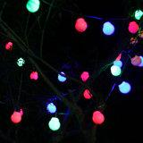 5m земного шара строка с 20 ясно Млечный лампы для соединения Vintage шарик пальчикового типа String фонаря освещения Рождества