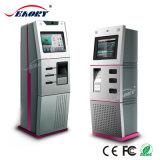 Quiosco terminal de la máquina expendedora del boleto del pago de la posición de la pantalla dual