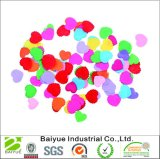 2017 Multi-Color Venda Quente Coração ornamentos de feltro