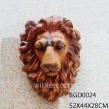 Напольные/домашние головки льва смолаы украшения стены для поставщика Китая