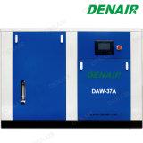 Compresseur d'air exempt d'huile sec de vis de la Chine pour l'équipement médical
