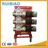 Os motores de acionamento para o prédio de construção Guindaste