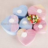 Картонная коробка Custom Печать , в форме сердечка шоколад подарочная упаковка бумаги