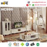 Mobiliário clássico europeu conjunto Quarto sólidos de madeira (HC9011)