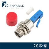 Mâle de LC au coupleur hybride femelle de fibre optique de FC