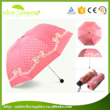 多彩な3つは小型傘の習慣を折る
