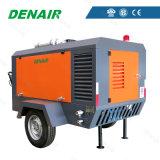 Compresor de aire de Cfm de la barra 250 del tornillo 7 con el motor diesel