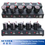 Machine de presse de la chaleur de tasse de postes de Digitals cinq