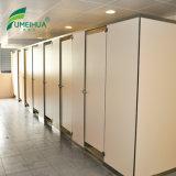 Étanche du grain du bois stratifié compact Toilette Toilette Prix Partitions