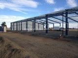 Almacén hecho en fábrica por la estructura de acero prefabricada con buena calidad