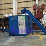 Imprensa de ladrilhagem de alumínio Waste com tipo horizontal