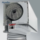 Верхняя установленная алюминиевая Retractable штарка завальцовки
