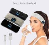 Fascia senza fili del cappello di musica di Bluetooth per la fascia di yoga della cuffia avricolare di sport