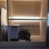 Del laminado decoración de la luz del escaparate del guardarropa de la luz pilota LED detrás