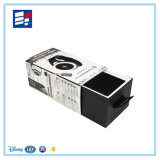 Rectángulo de empaquetado electrónico de la cartulina del papel hecho a mano con la pieza inserta de la espuma