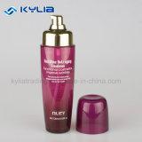 bottiglia di vetro dell'emulsione del vino rosso di pendenza 120ml della pompa antinvecchiamento dell'oro