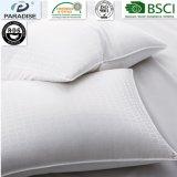 Ligados jacquard 100% algodón 300TC Confortable hotel estándar blanco Cojín de almohadas y edredones de