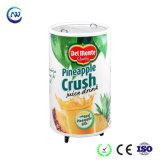 유리제 문 배럴 찬 음료 음료 둥근 급속 냉동 냉장실 (SC-50T)