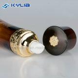 Corée Style 130ml en verre de luxe bouteille ambrée pour Lotion
