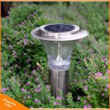 屋外の太陽照明LED庭の芝生の景色ランプ