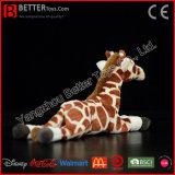 De realistische Zachte Giraf van het Stuk speelgoed van de Pluche Dier Gevulde voor Jonge geitjes/Kinderen