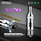최대 대중적인 분무기 Vape Seego는 K3 파이렉스 유리 Cigarros Electronicos 수증기를 G 명중했다