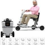3つの車輪の大人のためのFoldable電気スクーターのTrikkeの移動性のスクーターの電気自転車