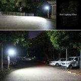 40 LED étanche de plein air de commande à distance du capteur radar à micro-ondes Projecteur Solaire de Jardin Terrasse Garage
